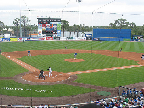 tradition field, mets' spring training