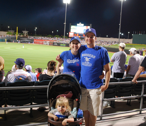 photo: family at surprise stadium